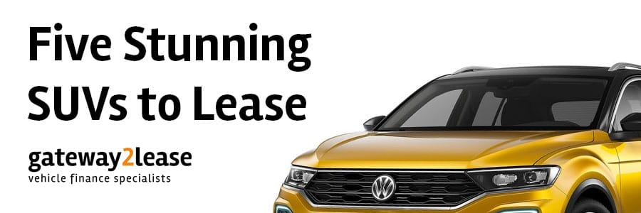 Five stunning SUVs to lease
