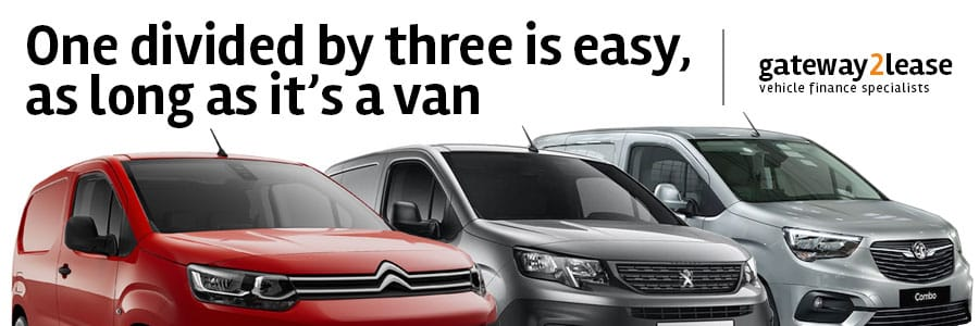 3 new vans to lease