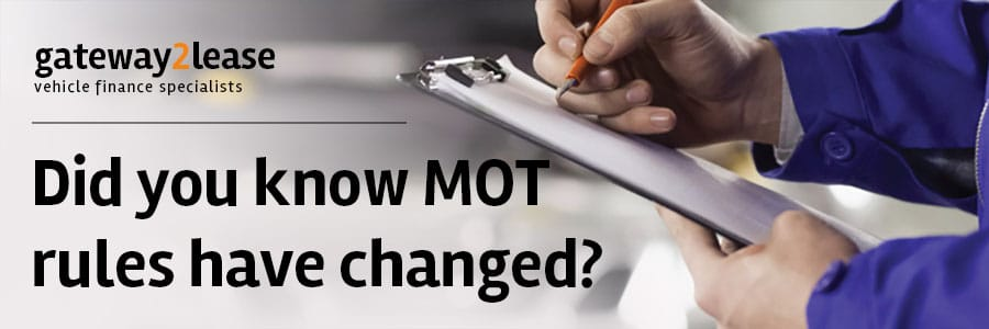 MOT changes