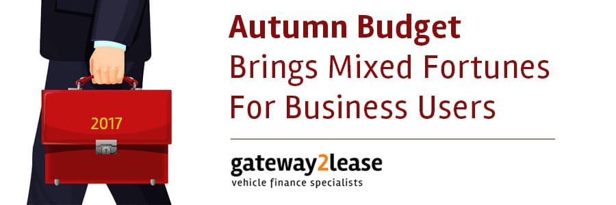 What does the 2017 Autumn Budget mean to business motorists?