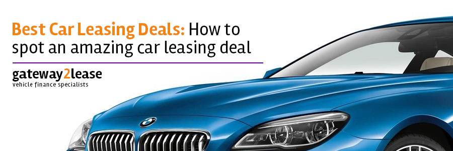Best car leasing deals
