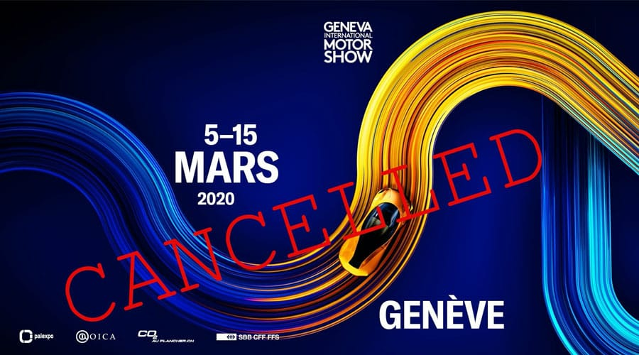Cancelled 2020 Geneva Motor Show