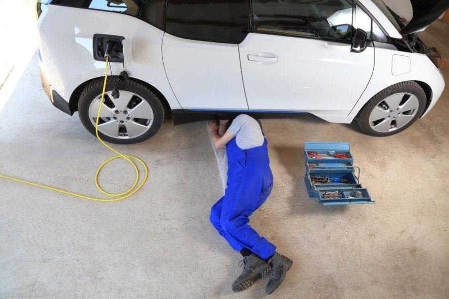 New EV garage finder