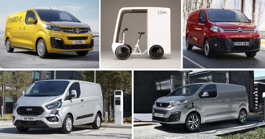 Five Zero Emission vans for your business