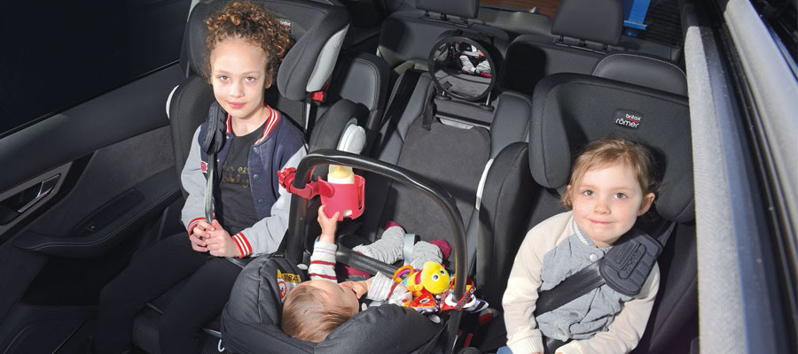 Getting children into the car