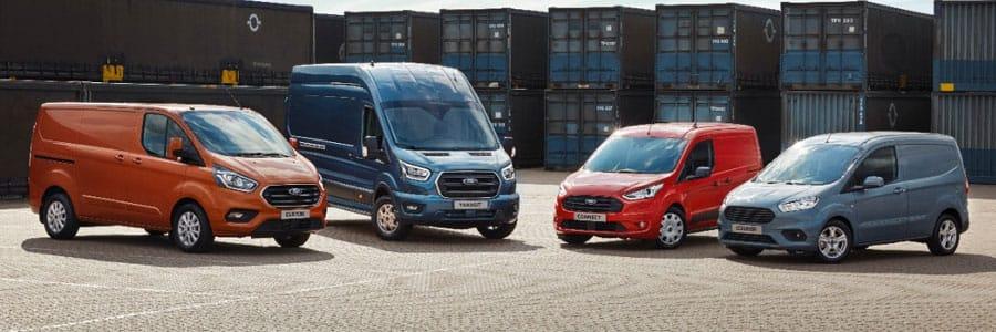 New Ford Transit range