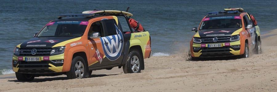 VW Amarok saving lives on Portugal's beaches