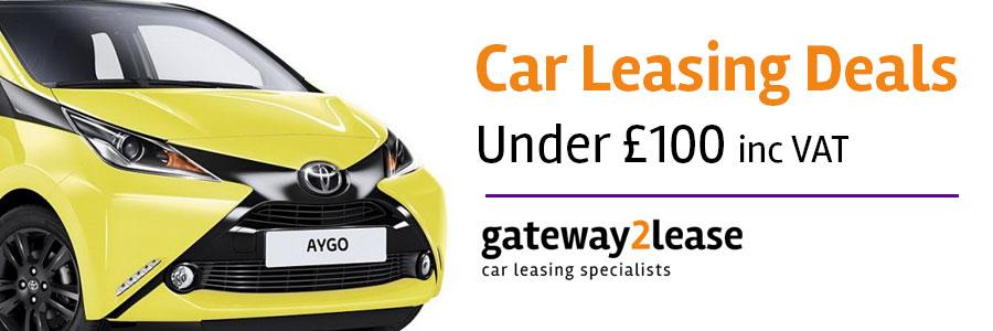 Leasing deals under £100