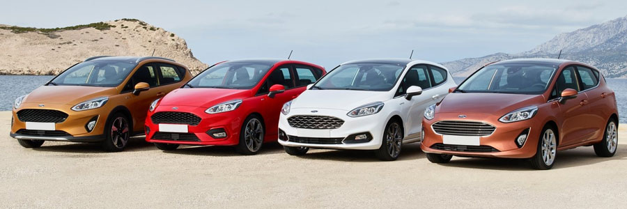 2017 Ford Fiesta line-up