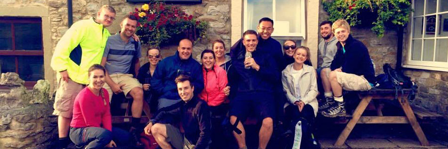 G2L team take on the three peaks