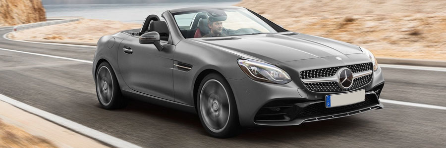 The all-new Mercedes SLC Roadster