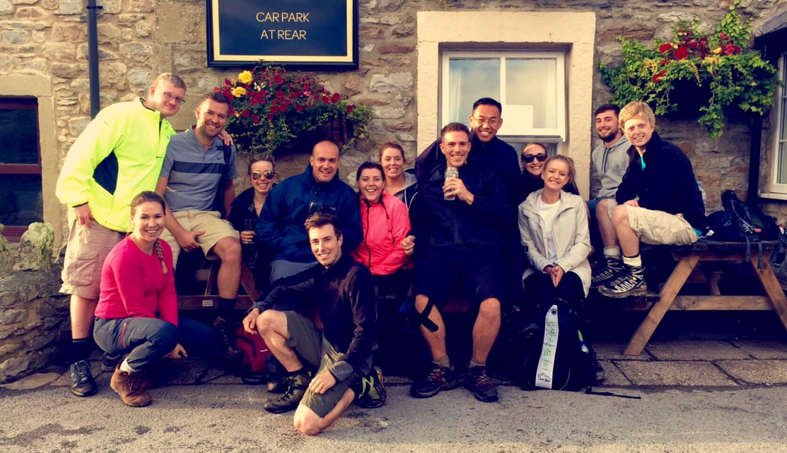 G2L take on the Yorkshire 3 Peaks