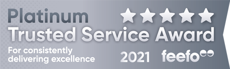 5 Star Service - Platinum Award