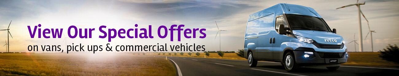 van & pickup leasing special offers