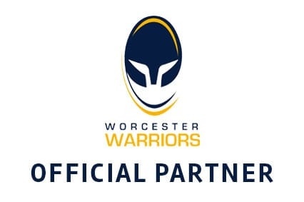 Official Partner to Worcester Warriors RFC