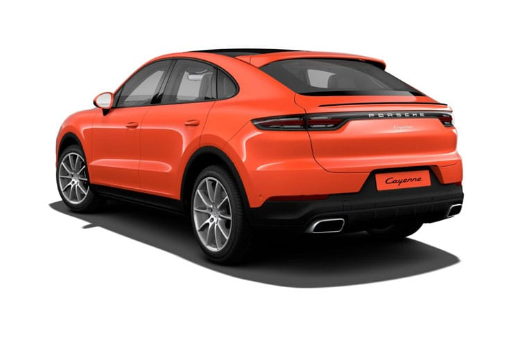 Cayenne Coupe Back Image