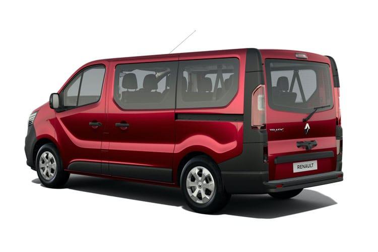 Trafic Minibus Back Image