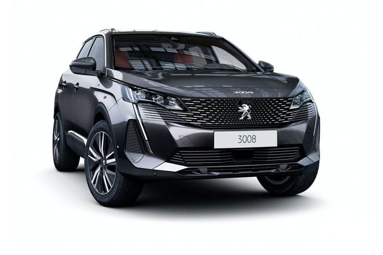 3008 Suv Front Image