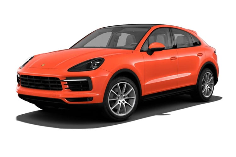 Cayenne Coupe Front Image