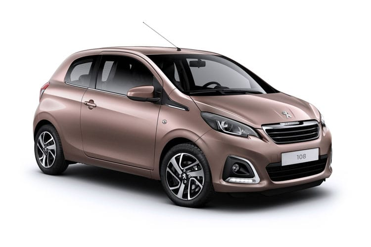 Peugeot 108 3 Door Hatch Car Lease Deals