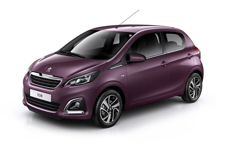 Peugeot 108 5 Door Hatch Car Lease Deals