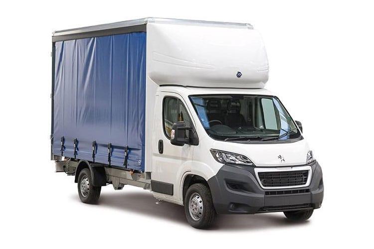 Peugeot Boxer Curtainside Van Lease Deals
