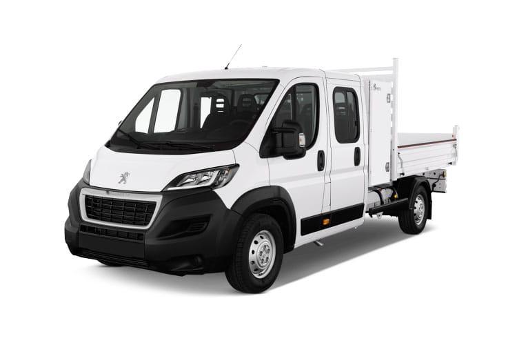 Peugeot Boxer Dropside Crew Cab Van Lease Deals