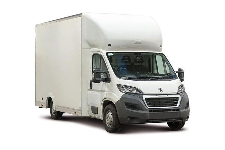 Peugeot Boxer Low-Floor Luton Van Lease Deals
