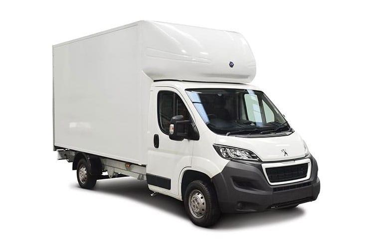 Peugeot Boxer Luton Van Lease Deals