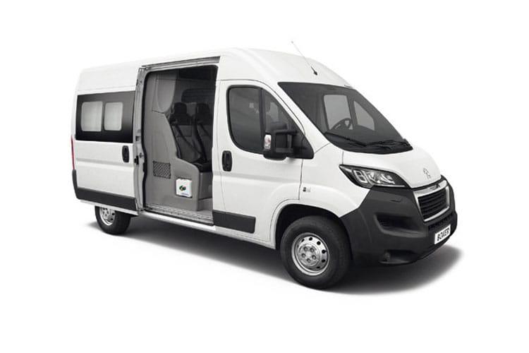 Peugeot Boxer Professional Crew Van Van Lease Deals