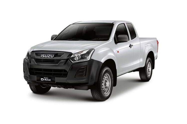 Isuzu D-Max Extended Cab Pick Up Van Lease Deals