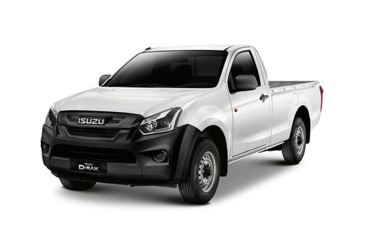 Isuzu D-Max Single Cab Pick Up Van Lease Deals