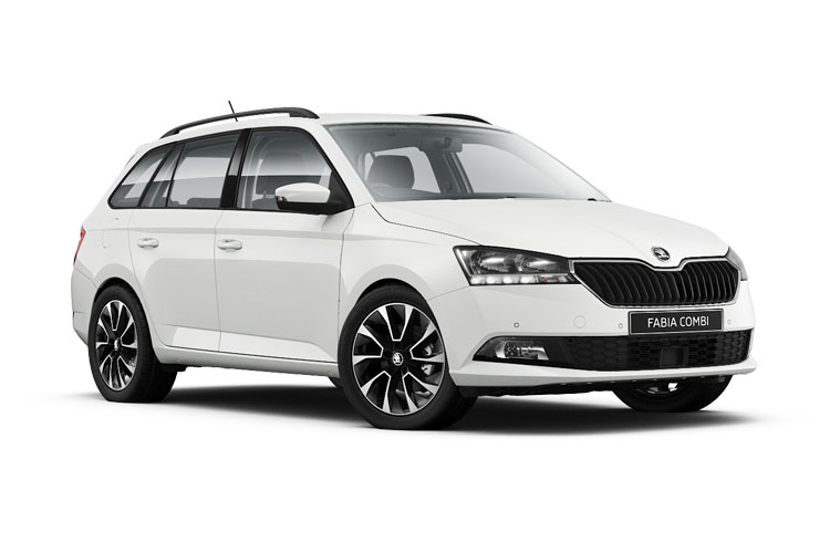 Skoda Fabia Estate Car Lease Deals