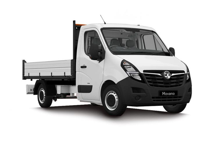 Vauxhall Movano Tipper Chassis Cab Van Lease Deals