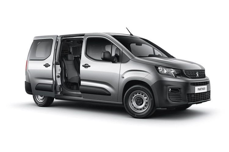 Peugeot Partner Crew Van Van Lease Deals