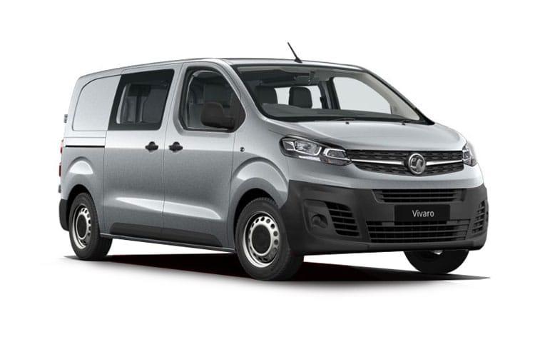 Vauxhall Vivaro Double Cab Van Lease Deals