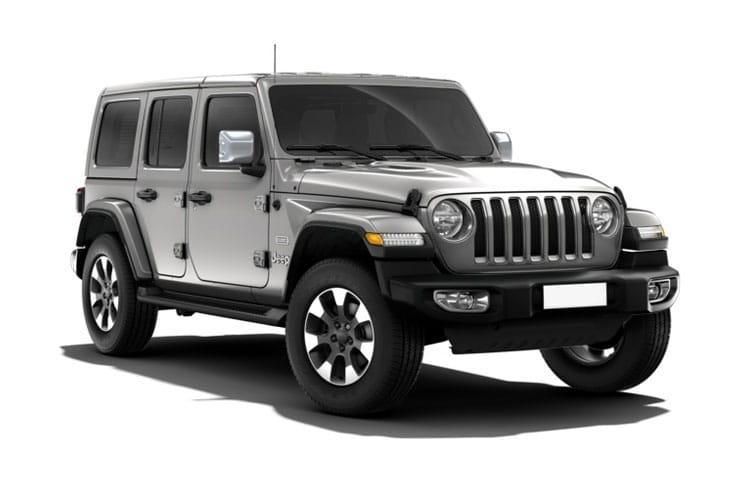 Jeep Wrangler 4-Door Car Lease Deals